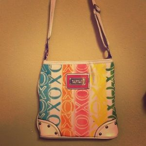 Xoxo rainbow Crossbody/Messenger Bag purse